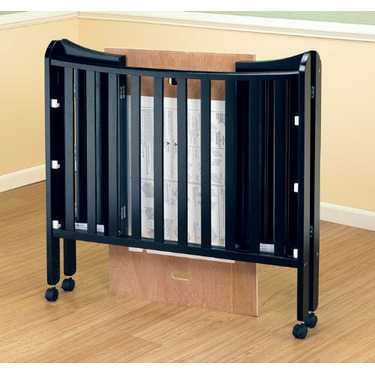 Orbelle Tian Three Level Standard Wood Crib in White