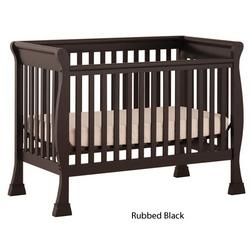 Status Series 600 Stages Convertible Crib Rubbled Black