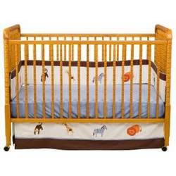 Jenny Lind 3-in-1 Convertible Crib in Oak