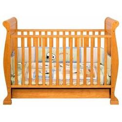 Anastasia 4-in-1 Convertible Crib in Honey Oak