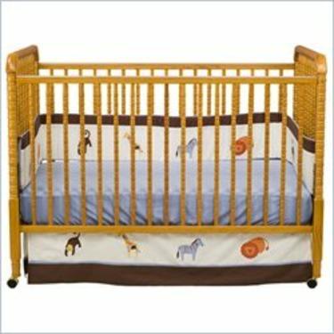 DaVinci Jenny Lind Stationary Crib - Oak