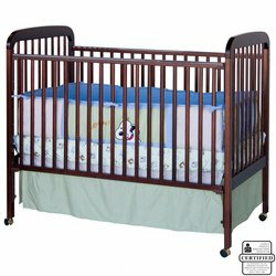 Alpha 3-in-1 Convertible Crib - Cherry