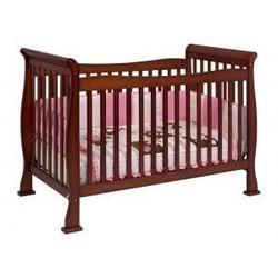 Reagan Baby Crib Set in Cherry