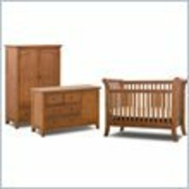 Status Furniture Milcroft Convertible Wood Crib Furniture Set