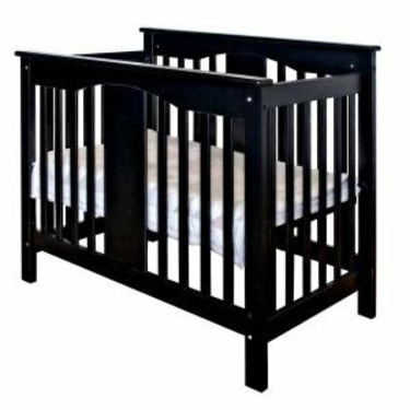 Annabelle Mini Baby Crib in Ebony
