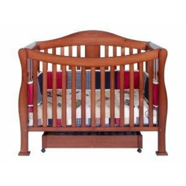 Parker Baby Crib Set in Cherry