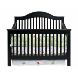 Jayden Baby Crib Set in Ebony