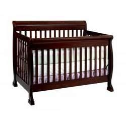 Kalani Baby Crib Set in Espresso