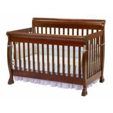 Kalani Baby Crib Set in Cherry