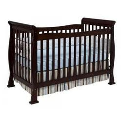 Reagan Baby Crib Set in Coffee