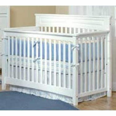 Child Craft Eastland Lifetime 4-in-1 Convertible Wood Crib