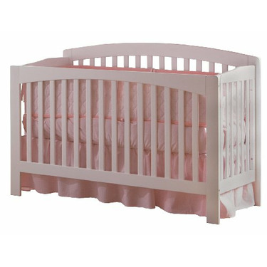 Atlantic Furniture Eco-Friendly Richmond Convertible Crib, White