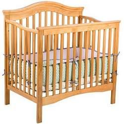 Liberty Mini Crib by Delta - Oak