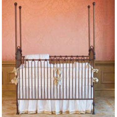 Venetian 3 in 1 Crib in Pewter