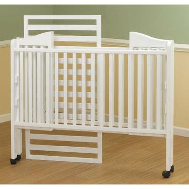 Orbelle Lisa Three Level Standard Full Size Wood Crib in White