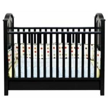 Roxanne 3-in-1 Convertible Crib in Ebony