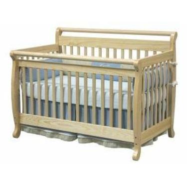 Emily Baby Crib Set in Natural