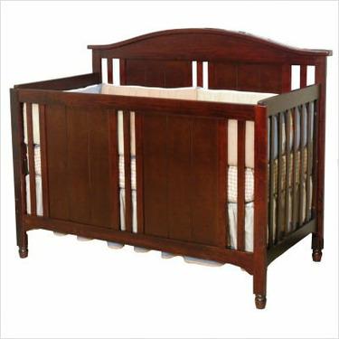Watterson Lifetime Convertible Crib in Cherry
