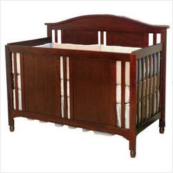 Watterson Lifetime Convertible Crib in Cherry