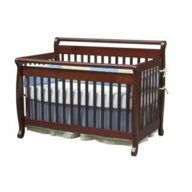 Emily Baby Crib Set in Cherry