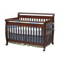 Emily Baby Crib Set in Cherry