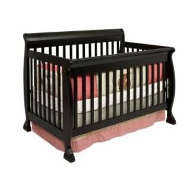 Kalani Baby Crib Set in Ebony