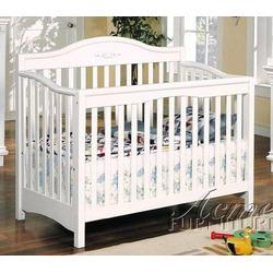 Convertible Baby Crib White Finish