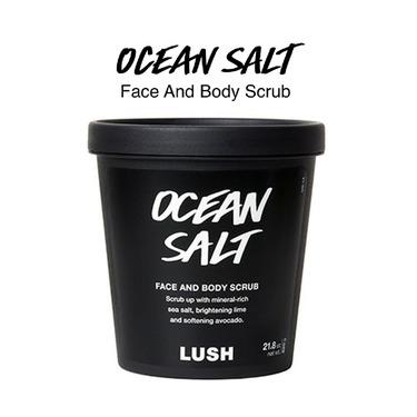 LUSH Ocean Salt Facial Scrub