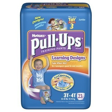 Huggies Pull-Ups Training Pants with Learning Designs, Boys, 3T-4T