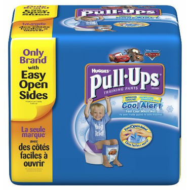 Huggies Pull-Ups Training Pants with Cool Alert Wetness Liner, Boys, 3T-4T, 52-Count