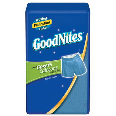 Huggies GoodNites Boxers, Boys, Large/Extra-Large, 11-count (Pack of 4)
