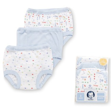 Gerber Training Pants (6-pairs), 3T, Boy's Colors - Fits 32-35 lbs.