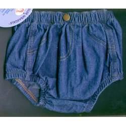Wrangler Infant Diaper Cover, Lightweight Denim, 6 Months