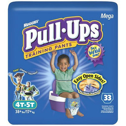 Huggies Pull-Ups Training Pants, Boys, 4T-5T, 33-Count