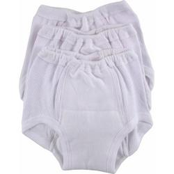 3-Pack Training Pants in White - Size 5