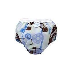 Kushies Potty Training Tafetta Lightweight Training Pants (Medium (29-33 lbs), Boy)