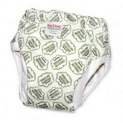 Imse Vimse Organic Cotton Bumpy Training Pants - JR (35-44lbs) - Green Cotton