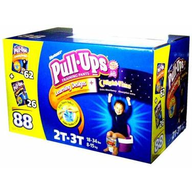Huggies Pull-Ups Training Pants, Boys, 2T-3T, 88-Count