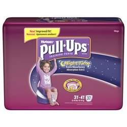 Girls' Pull-Ups Nighttime Training Pants 37-pk. - 3T/4T