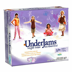 Girls' Under Jams Night Wear 27-pk. - S/M