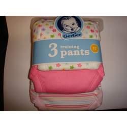 Gerber Girls 3T Training Pants