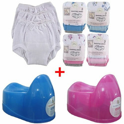 3-Pack Training Pants & Simple Potty Value Pack, Pink Potty, Pink Pants, Size 5