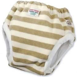 Imse Vimse Organic Velour Training Pants - JR (35-44lbs) - Olive Stripe