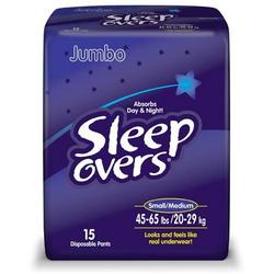 Sleep Overs Pull Up - S/M - 60/cs