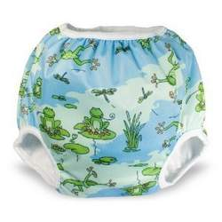 Bummis Training Pant FROGGY POND - Medium (30-40lbs)