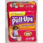 Huggies Pull-Ups Learning Designs, Girls 3T-4T