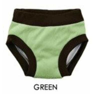 Blueberry Potty Trainers-Large-Green
