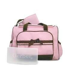 Gerber Large 3 in 1 Ribbon Bag, Pink