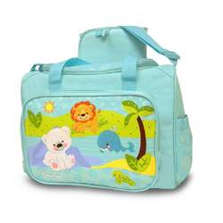 Fisher-Price Precious Planet Duffel Bag, Blue