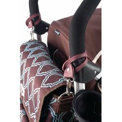 timi & leslie 2 in 1 Backpack Diaper Bag, Sahara Brown